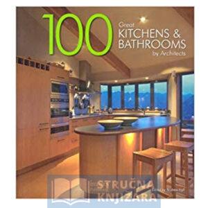 Naslovnica knjige na kojoj je prikana moderno dizajnirana kuhinja kojom prevladava drvo.