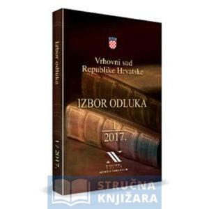 Izbor-Odluka-Vrhovnog-Suda_1_2017-Strucnaknjizara