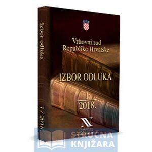 Izbor-Odluka-Vrhovnog_Suda_1-2018-Strucna-knjizara