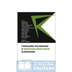Fiziološki pojmovnik s hrvatsko-engleskim rječnikom