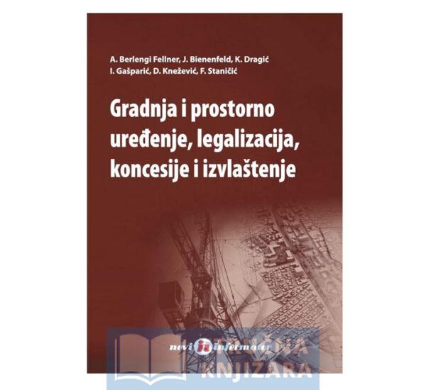 Gradnja i prostorno uređenje, legalizacija koncesije i izvlaštenje