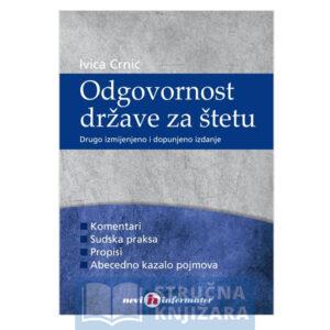 Odgovornost države za štetu - Ivica Crnić