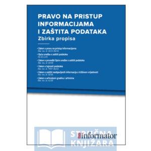 Pravo na pristup informacijama i zaštita podataka - strucnaknjizara