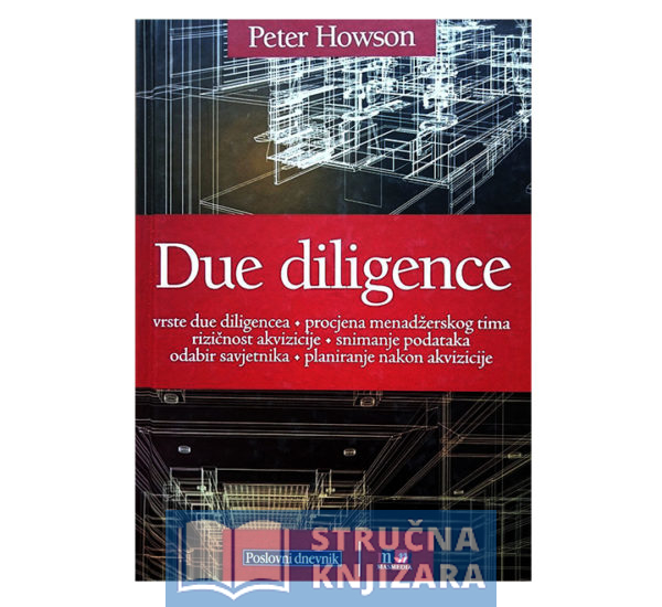 Knjiga Due_diligence-Peter_Howson